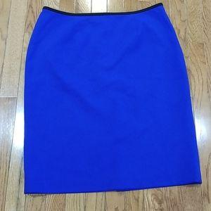 Calvin Klein blue skirt, size 12